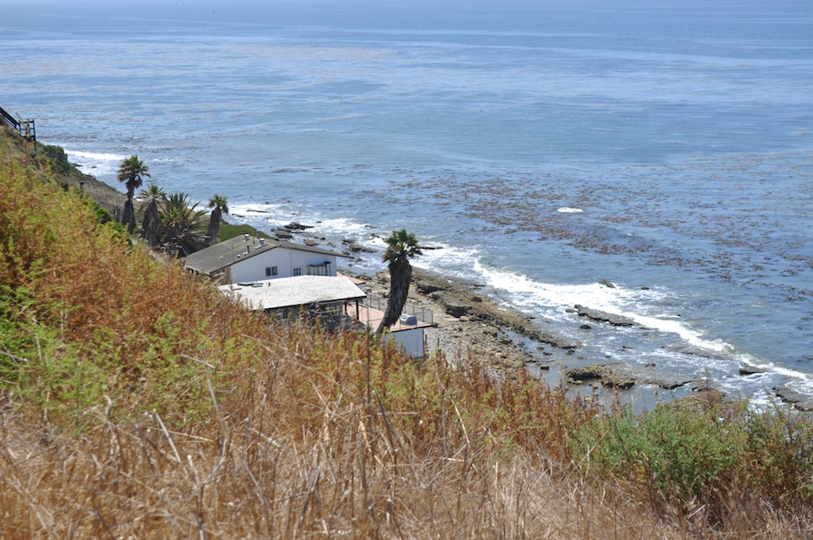 The southeastern side of the Palos Verdes Peninsula, near White Point.